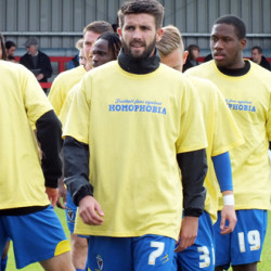 AFC Wimbledon supports Football Fans against Homophobia
