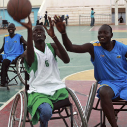 Sport marks international day of disabled