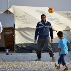 French short doc explores the benefits of football at the Zaatari refugee camp