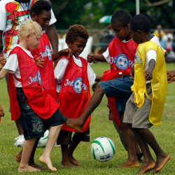 UNICEF and OFC team up to promote sport among children in the Pacific