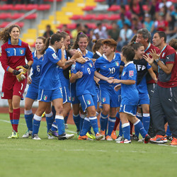 Social media campaign to promote women's football in Italy