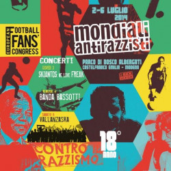 Football fans from across Europe meet at the Mondiali Antirazzisti
