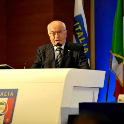 Carlo Tavecchio elected Italian football president despite racist comment