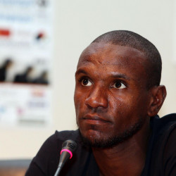'Show respect to everyone' says Olympiacos star Eric Abidal at anti-racism conference
