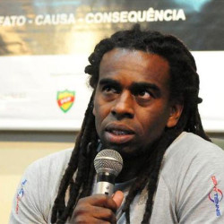 Former Brazil international addresses racism in football seminar