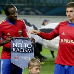 CSKA fans start campaign after wave of racism