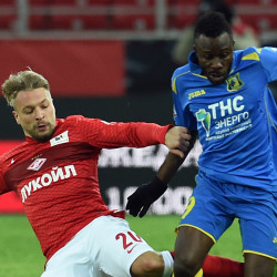 Russian Football Union sanctions player for reacting to racist abuse