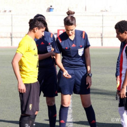 Egypt welcomes first female referee in men's football