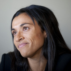 Marta calls for gender equality and more opportunities for women in football