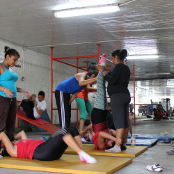 Mexican and Argentinian youth groups revitalise public spaces to foster sport