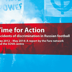 'Time for action' says Fare study highlighting scale of racism and xenophobia in Russia