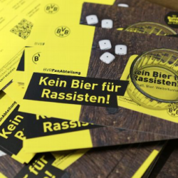 'No beer for racists' says new Borussia Dortmund anti-racist campaign