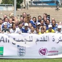 U19 Women's teams of England and Israel hold training session for Jewish-Arab clubs in Israel