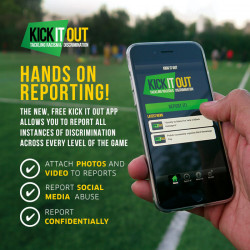 Kick It Out launch updated version of reporting application