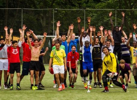 Refugees and football – Who is doing what and where