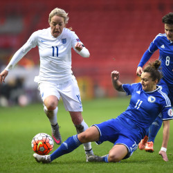 Bosnia is buzzing over a women's football match