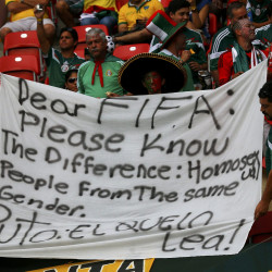 FIFA fine seven federations for discriminatory behaviour