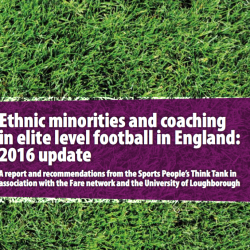 Ethnic minority coaches still not getting jobs in English football says report