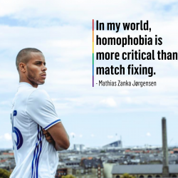 Danish Players' Association launch anti-homophobia campaign