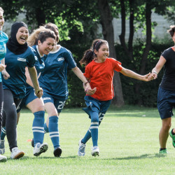 Football and gender equality programme presented in Uruguay
