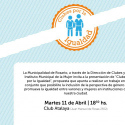 New gender equality plan launched for clubs in Rosario