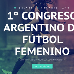 First national conference on women's football held in Argentina