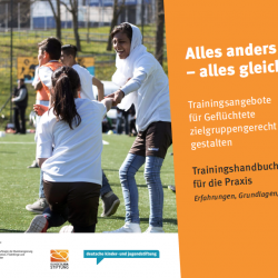 New guide provides guidance on football coaching for refugees