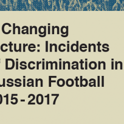 Monitoring report details racism in Russian in football