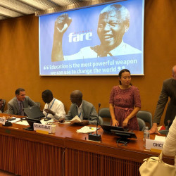 Fare to host panel at UN Social Forum on human rights and sporting mega events