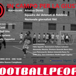 #FootballPeople weeks tournament in Italy to protest new government measures 'criminalising refugees'