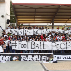 Fan groups unite for social change during #FootballPeople weeks