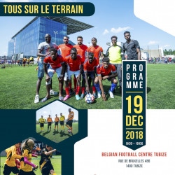 "Belgian FA to host ""Tous sur le terrain"" event for refugee inclusion through football"