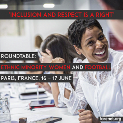 Inclusion and Respect Is A Right – 2019 Roundtable on Ethnic Minority Women and Football