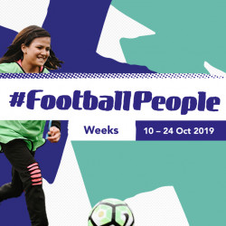 #FootballPeople weeks launches in 60 countries