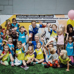 "Blog: ""It is exciting to see how girls fall in love with football even if it remains a men's game in Russia"""