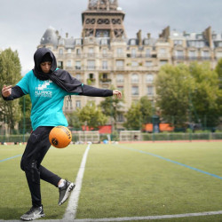BLOG:  'The ban is on wearing the hijab while playing football but may as well be a ban on Muslim women as a whole'