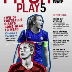 PitchPlay 5: A magazine about women's football