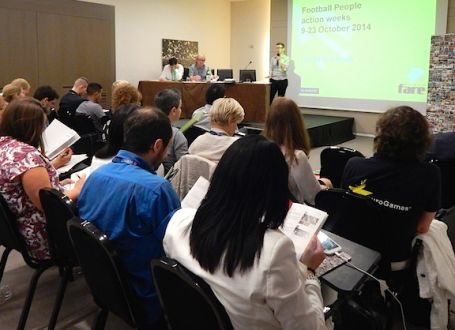 Fare delegation meets in Rome as part of 'Respect Diversity' conference