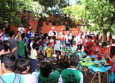 Argentinian youth celebrate inclusion and development through community sport