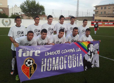 City of Murcia activity in the frame of the 2013 Football People Action Weeks