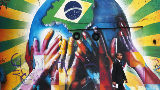Sao Paulo Prepares For Start Of World Cup