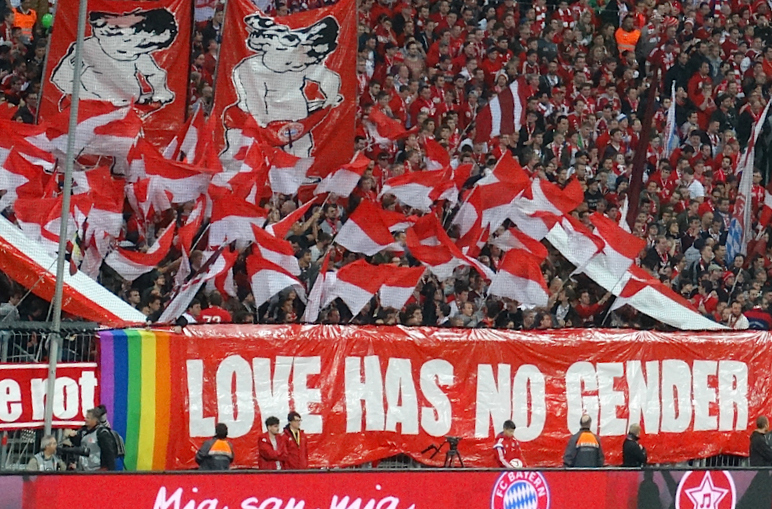 2014 QFF and Queerpass Bayern Football People activity