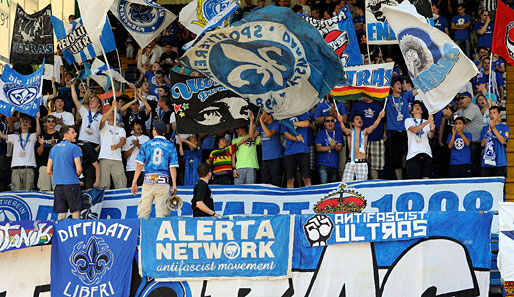 Darmstadt supporters taking a stand against discrimination